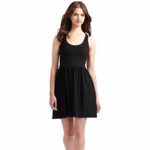 Cynthia Rowley Dresses - Cynthia Rowley Fit & Flare Black Tank Dress small